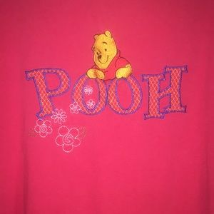 Vintage 100 Acre Pooh Embroidered Patch t-shirt